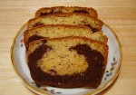 Black Bottom Rum Banana Bread