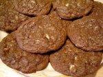 Crème De Menthe Chewy Chocolate Cookies