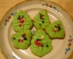 Spritz Christmas Tree Cookies