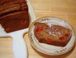 Cherry Applesauce Quick Bread