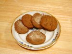 Eggless Chocolate Cinnamon Cookies