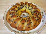 Chocolate Chip Marble Pudding Cake