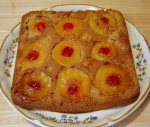 Apple Honey Upside Down Cake