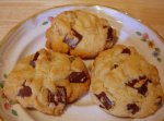 Soft Chocolate Chunk Walnut Cookies
