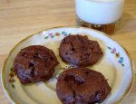 Double Chocolate Cream Cheese Cookies