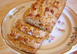 Maple Nut Banana Bread