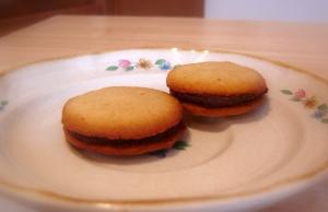 Orange-flavored Milano Cookies