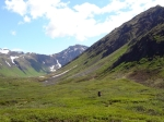 Hiking in Alaska's Chugach Mountains