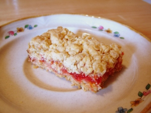 Homemade Strawberry NutriGrain Bars