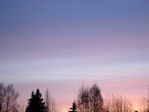 Alaska Morning Sky