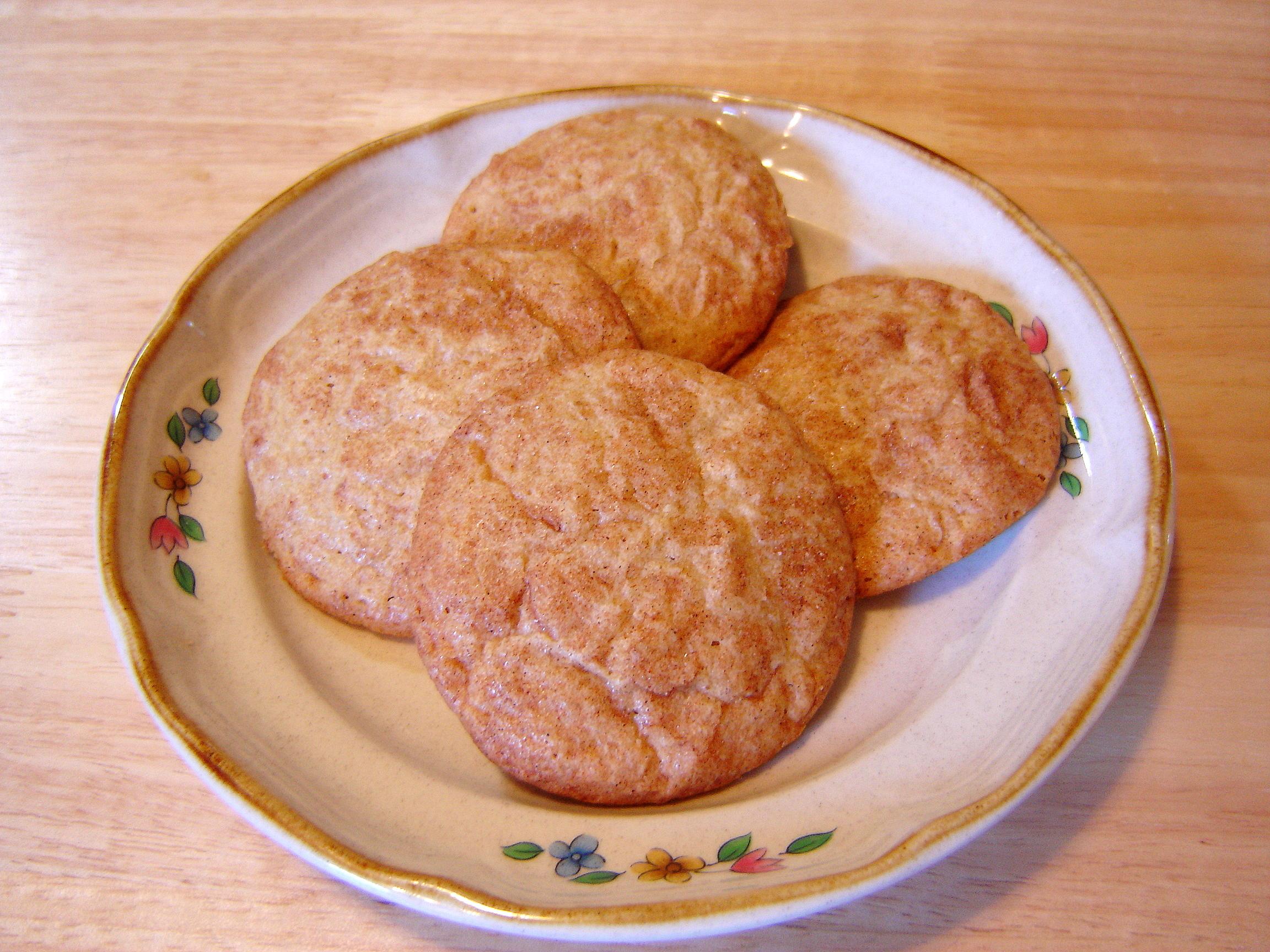... recipe #2 – Mrs. Fields Cinnamon Sugar Cookies | At Home in Alaska