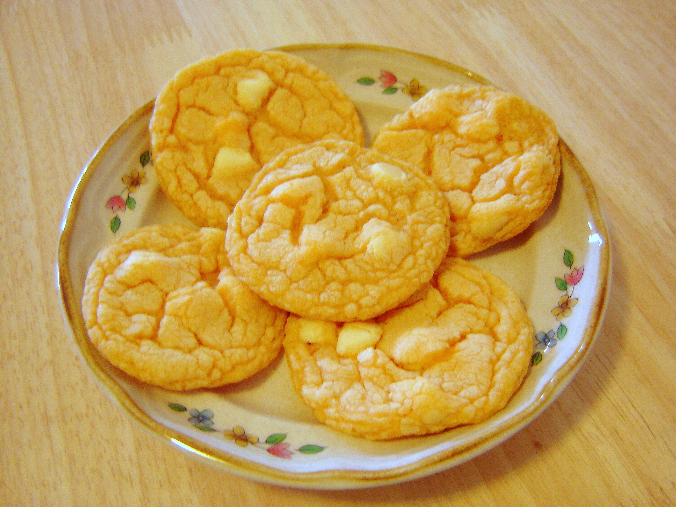 Orange White Chocolate Chip Cookies | At Home in Alaska