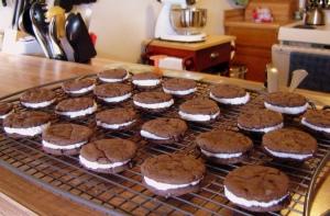 Cream-Filled Chocolate Sandwich Cookies