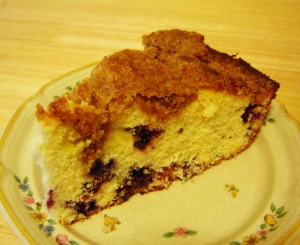 Skillet Blueberry Streusel Coffee Cake