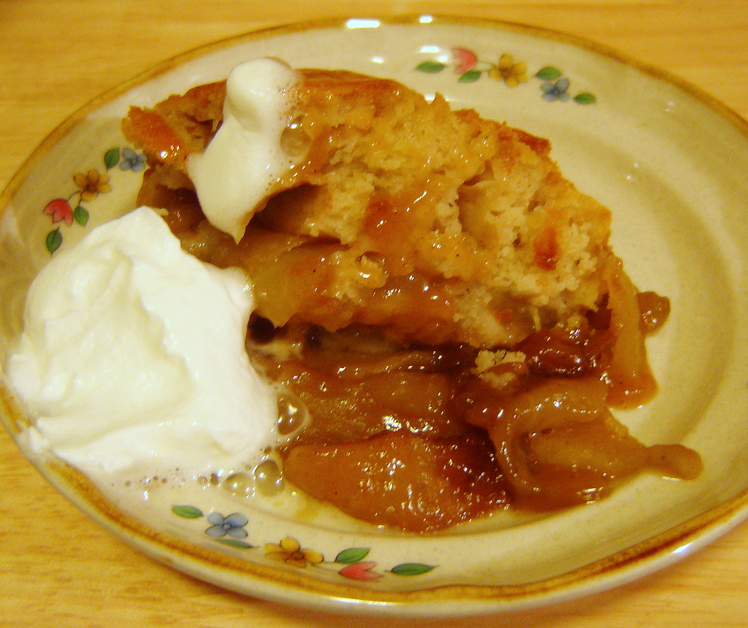 Skillet Caramel Apple Cobbler | At Home in Alaska