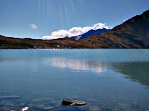 Lake near the cabin