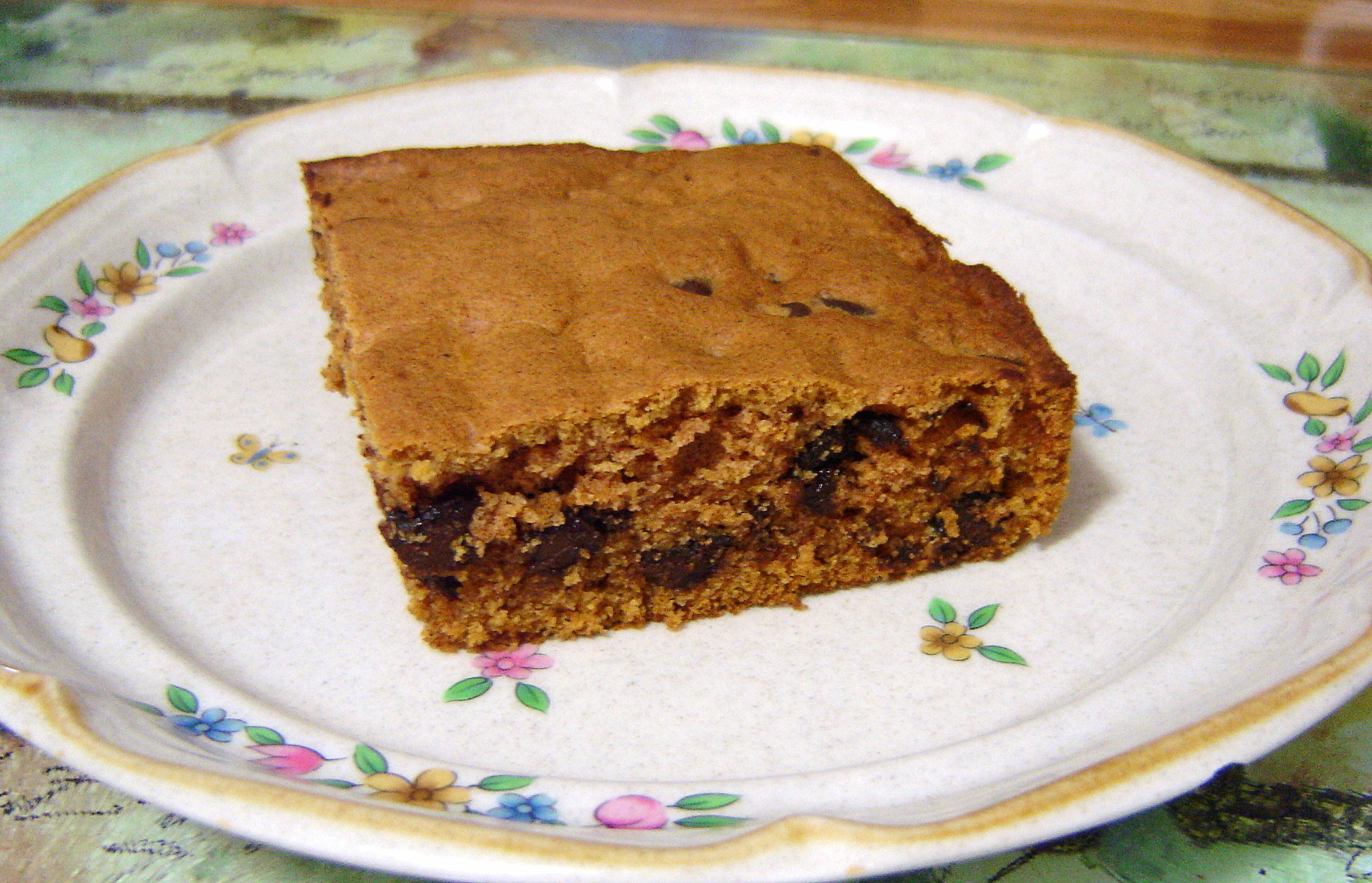 Pumpkin Chocolate Chip Squares | At Home in Alaska