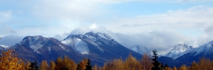 Snow in the Chugach Mountains