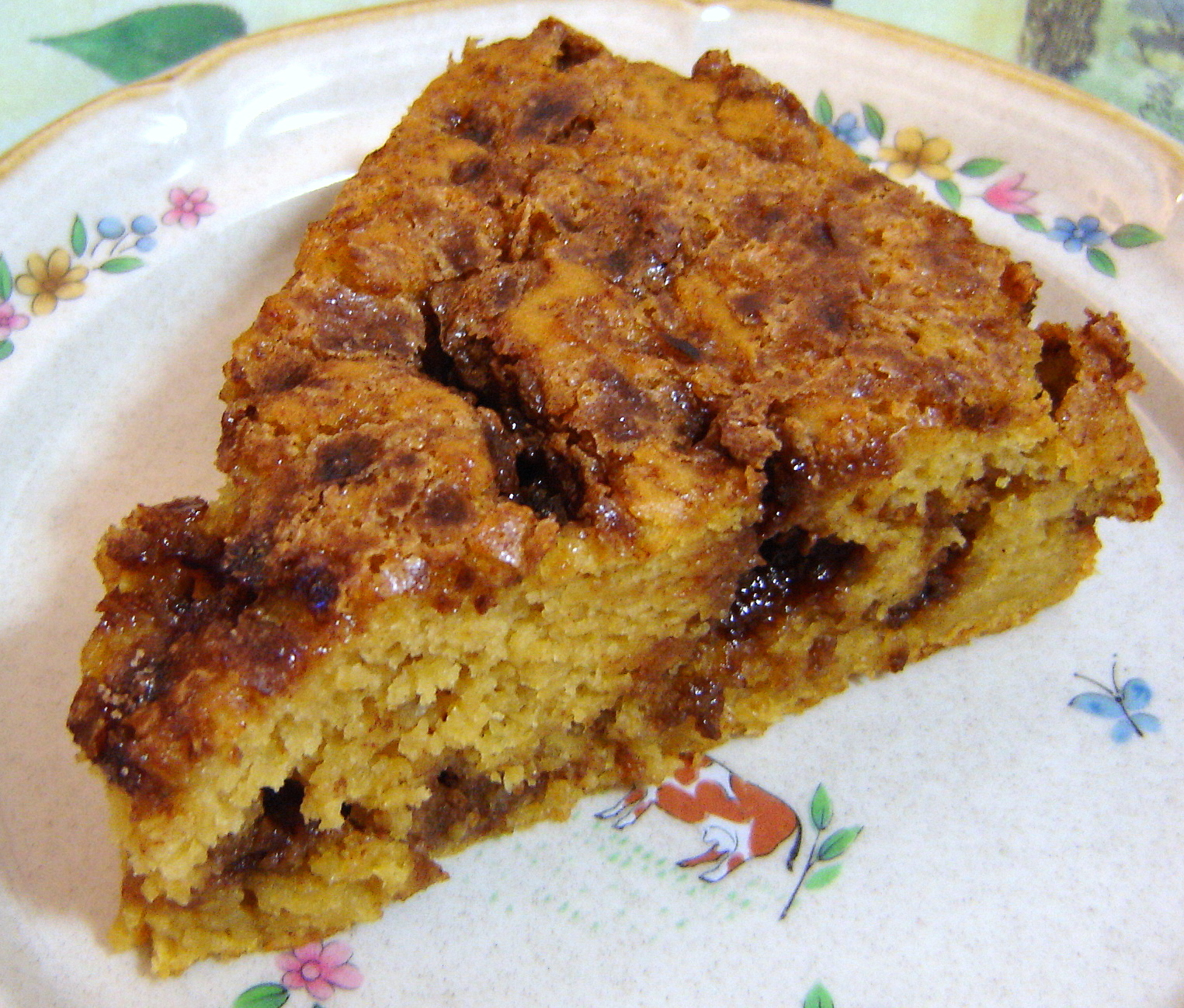 Pumpkin-Maple Coffee Cake | At Home in Alaska
