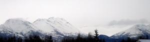 Snowy Chugach Mountains
