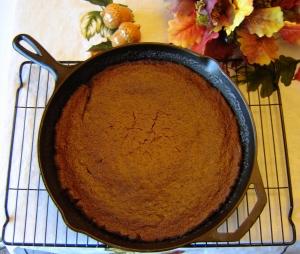 Skillet Molasses Cake