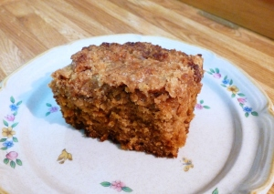 Cinnamon Chip Coffee Cake with Streusel Topping