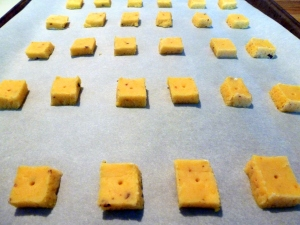 Homemade Chili Cheese Snack Crackers