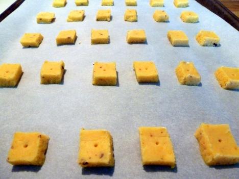 Homemade Chili Cheese Snack Crackers