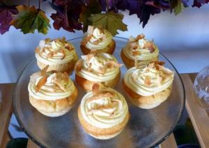 White Velvet Coconut Cupcakes
