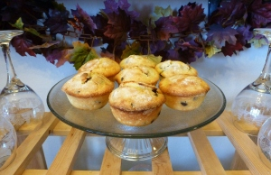 Lemon Chocolate Chip Muffins