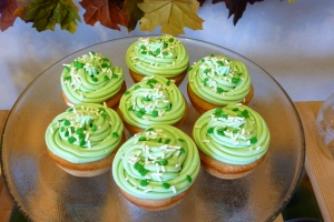 Irish Cream Cupcakes with Irish Cream Buttercream Frosting