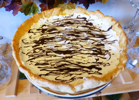 Skillet Cream Puff Pie