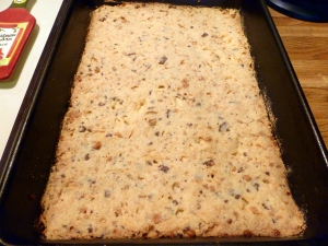 Chocolate Toffee Bar - Crust