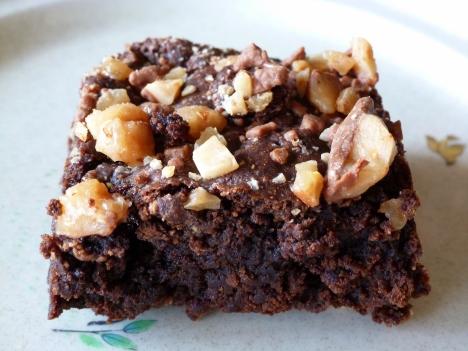 Fudgy Mocha Toffee Brownies