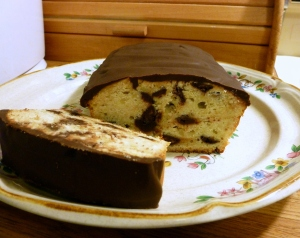 Orange Chocolate Chip Pound Cake