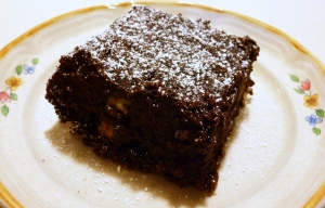 Flourless Chocolate Walnut Brownies