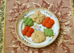 Spiced Spritz Cookies