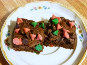 Festive One Bowl Brownies