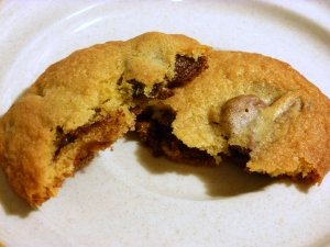 Mini Peanut Butter Cup Chocolate Chip Cookies