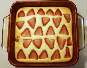 Strawberry-Lemon Cheesecake Squares