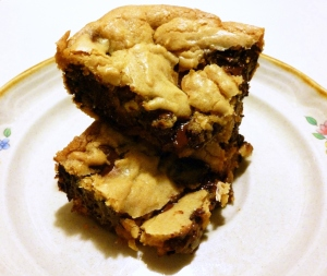 Caramel Chocolate Chip Blondies