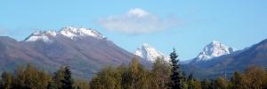 Snow-Kissed Mountains